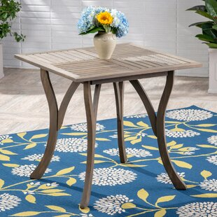 Hochstetler Solid Wood Dining Table by Bungalow Rose