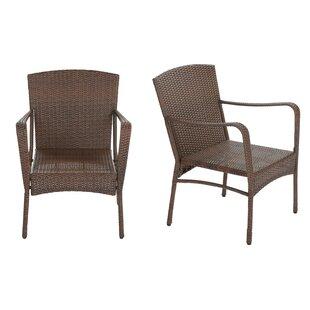 Bloomsbury Market Beaman Patio Chair (Set of 2)