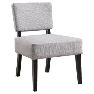 Ileana Slipper Chair by Ebern Designs
