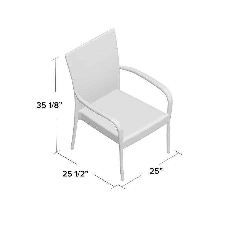 Hawes Patio Chair  sc 1 st  Wayfair & Mercury Row Hawes Patio Chair u0026 Reviews | Wayfair