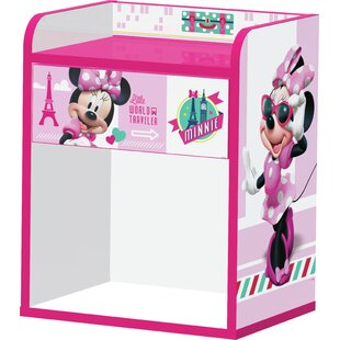 Minnie Mouse 1 Drawer Bedside Table by Zoomie Kids