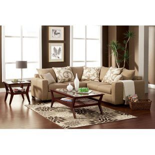 Darby Home Co Mizpah Sectional