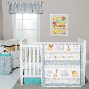 Rigdon 6 Piece Crib Bedding Set