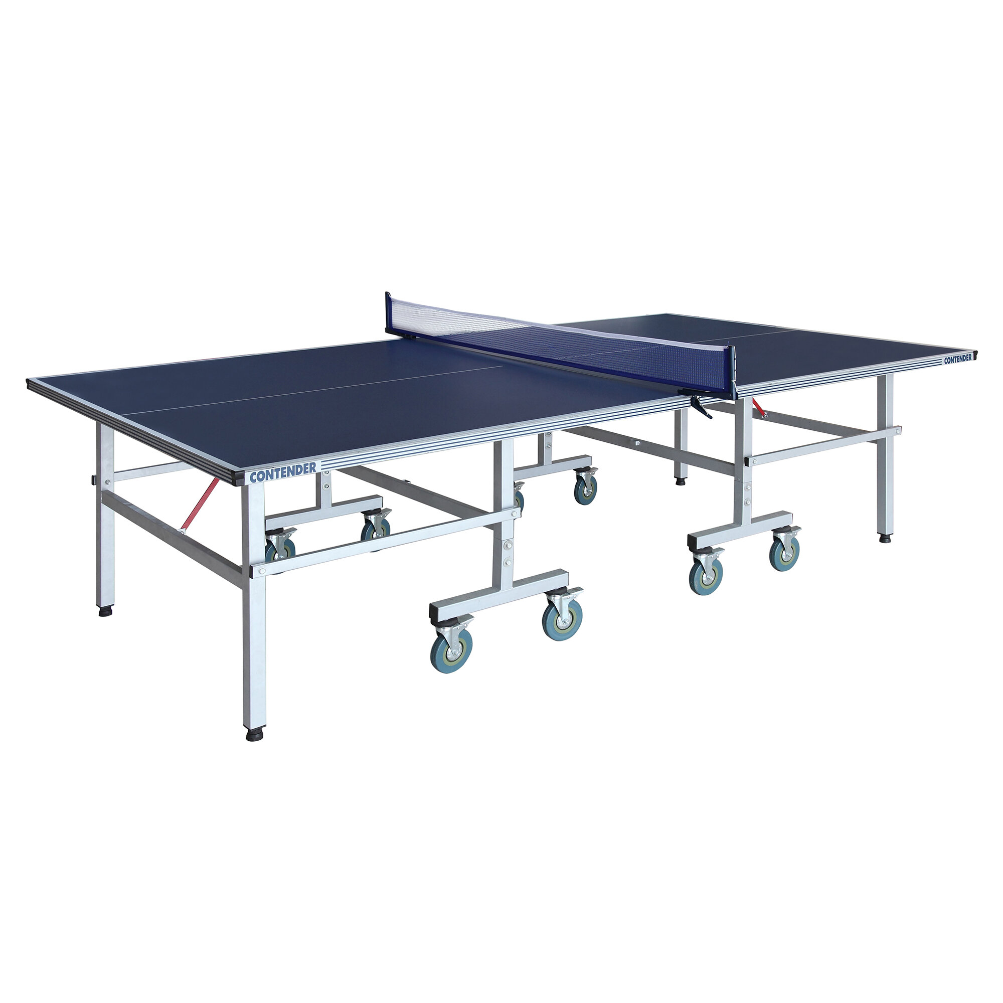 Hathaway Games Contender Regulation Size Foldable Indoor Outdoor Table Tennis Table With Paddles And Balls 38mm Thick Reviews Wayfair