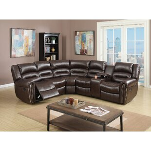 Darby Home Co Finck Reclining Corner Sectional