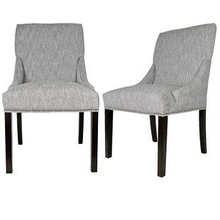 Lucky Upholstered Dining Chair (Set Of 2) Wonderful