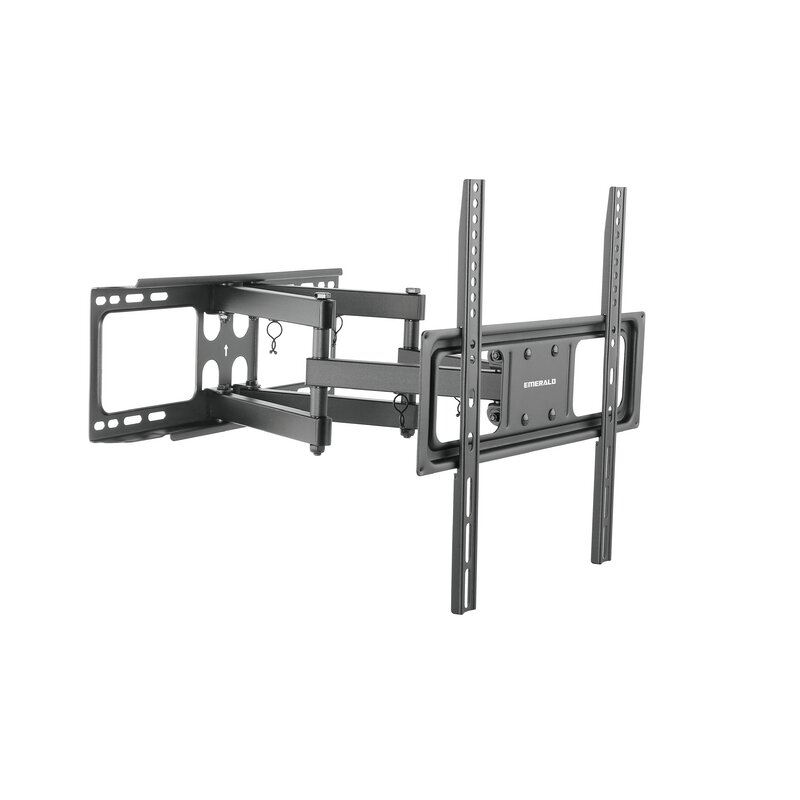 gforce full motion universal wall mount for 32 55 lcd plasma led tv reviews wayfair. Black Bedroom Furniture Sets. Home Design Ideas
