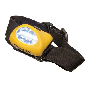 Stanley Headlights Led With Headband Yellow 2 Pieces By Edco