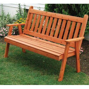 Gaydos English Wood Garden Bench