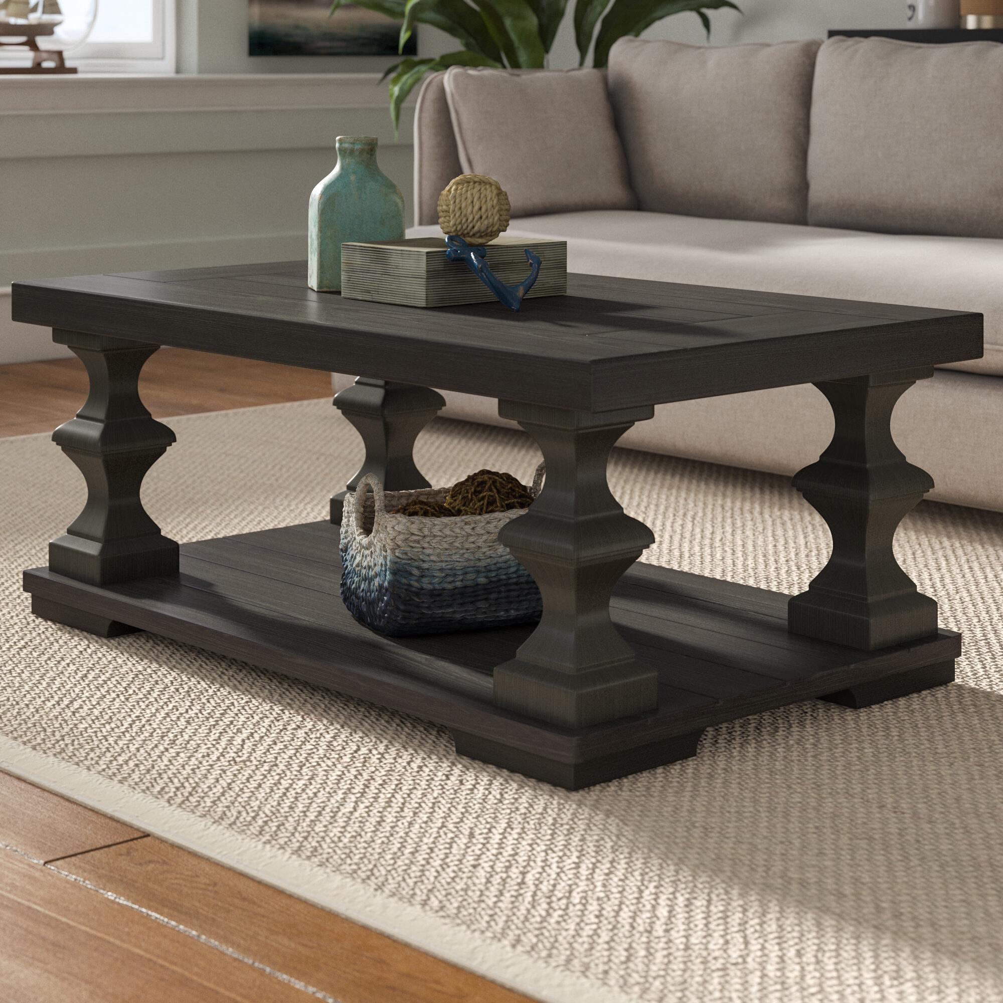 Addilyn Floor Shelf Coffee Table