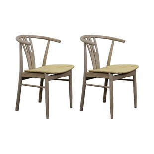 Saturnino Solid Wood Dining Chair (Set Of 2) By George Oliver