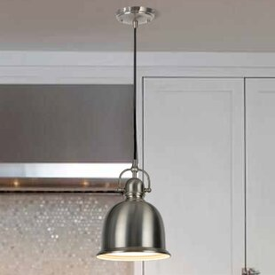 Aspen Creative Corporation 1-Light Bell Pendant