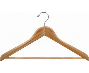 Read Reviews Cedar Suit Hanger with Bar (Set of 50) ByOnly Hangers Inc.