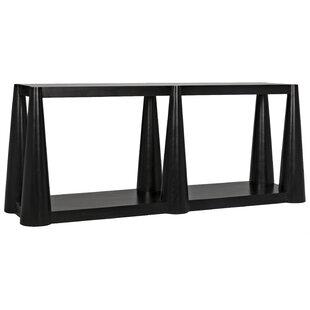 Noir Doric Console Table