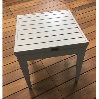 Aluminum Side Table by Feruci 2020 Coupon