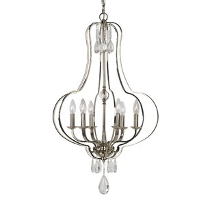 Dorian 6-Light Empire Chandelier by House of Hampton