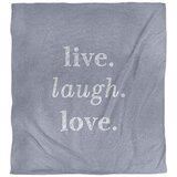 Live Laugh Love Comforter Wayfair