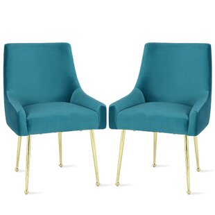 Huxley Upholstered Dining Chair (Set of 2) Novogratz