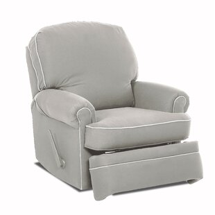 Stanford Glider Swivel Recliner by Wayfair Custom Upholstery™