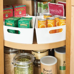 Lazy Susan Kitchen Bin