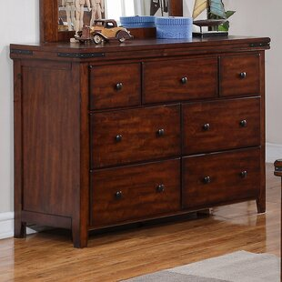 Comparison Nashoba 7 Drawer Dresser by Loon Peak Reviews (2019) & Buyer's Guide