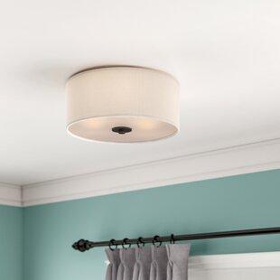 Darby Home Co Becher 3-Light Flush Mount