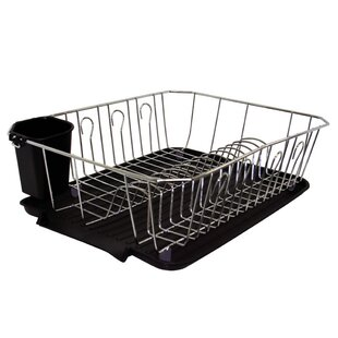 Bath Bliss Kitchen Details 3 Piece Dish Rack Set