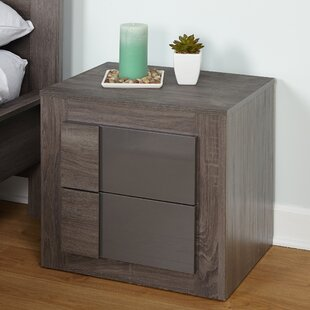 Find Joshua 2 Drawer Nightstand By Zipcode Design