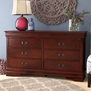 Darby Home Co Oldbury 6 Drawer Double Dre..