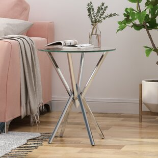 Petersburg End Table by Everly Quinn