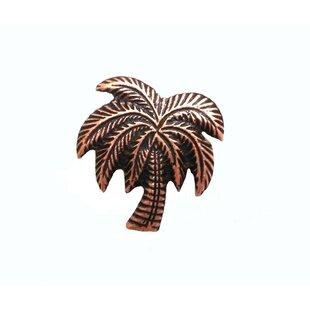 Large Palm Tree Novelty Knob by Buck Snort Lodge Cheap