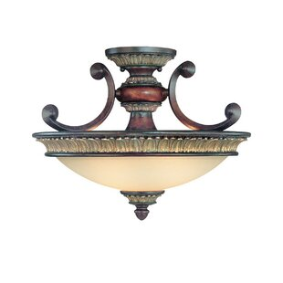 Dolan Designs Bonita 2-Light Semi Flush Mount