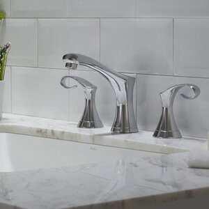 Cirrus Widespread Double Handle Bathroom Faucet