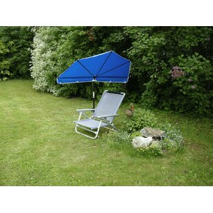 Odea 2 Piece Reclining Beach Chair Set With Umbrella By Sol 72 Outdoor