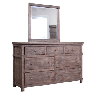 San Angelo 7 Drawer Dresser