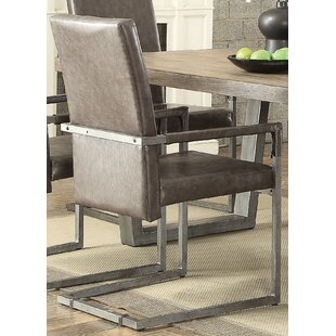 Emeline Upholstered Dining Chair (Set of 2) 17 Stories