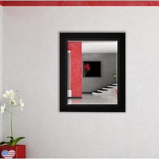 Zipcode Design Nigel Rectangle Wood Framed Wall Mirror