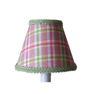 Pastel Plaid 11 Fabric Empire Lamp Shade