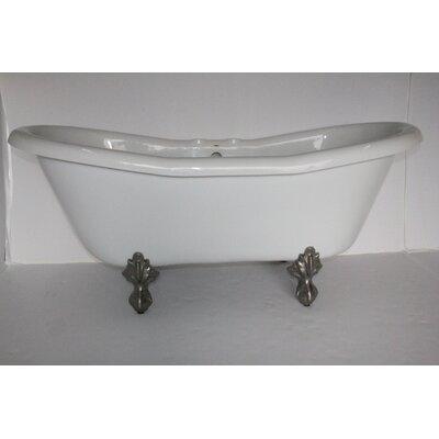 "Restoria Bathtub Company Duchess 68"" x 30"" Freestanding Soaking Bathtub"