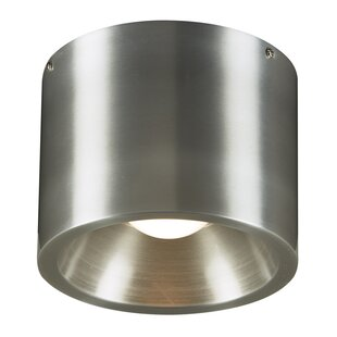 Price Check Masham 1-Light Outdoor Flush Mount By Ebern Designs