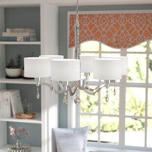 Rosdorf Park Borderlands 6-Light Shaded Chandelier