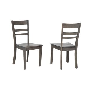 Middlebury Slat Back Solid Wood Dining Chair (Set Of 2) by Red Barrel Studio Comparison