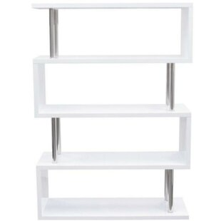 Cathleen Geometric Bookcase