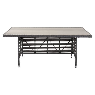 Alisa Rectangular 29.9 Inch Table by Bloomsbury Market 2020 Online
