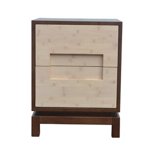 Indo Puri Pulo 2 Drawer Nightstand