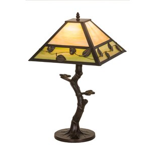 Mission Vine Leaf Apple Tree 23Table Lamp