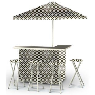 Best of Times Patio 9 Piece Bar Set