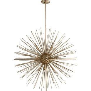 Everly Quinn Kovac 10-Light Sputnik Chandelier