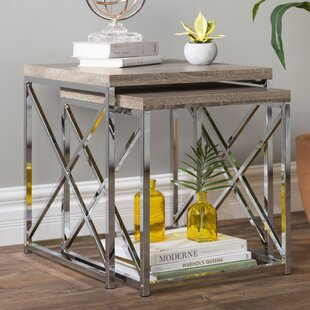 Kimora 2 Piece Nesting Tables