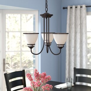 Red Barrel Studio Smyrna 3-Light Shaded Chandelier